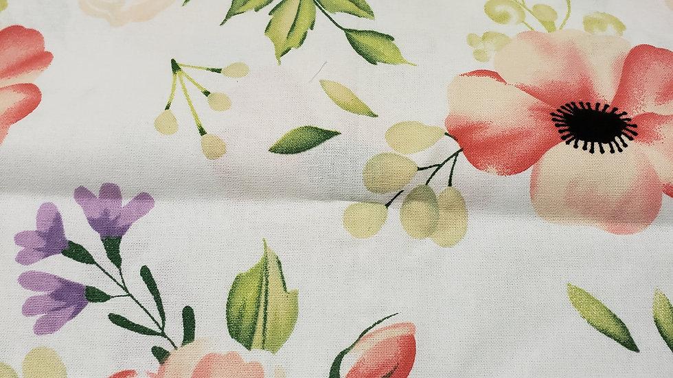 Large floral print