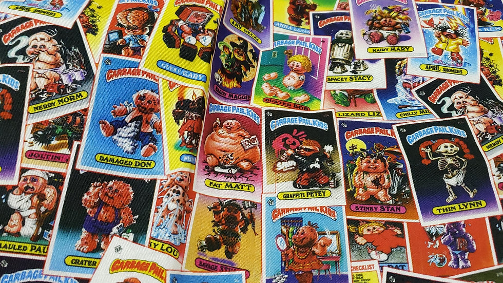 Garbage Pail Kids 1 and 2 Pleated Masks