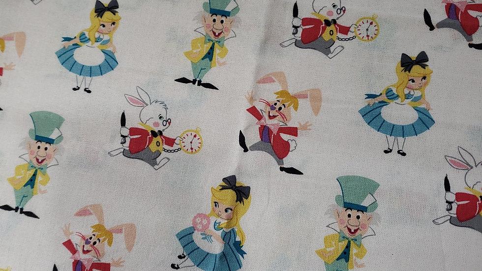 Alice in Wonderland Zippy Clutch