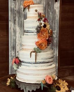 Charlie and Taylor's Wedding Cake
