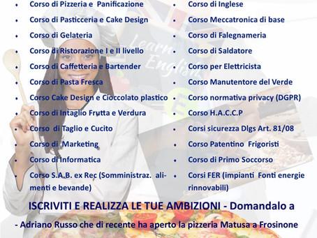 CORSI 2021 AssoEventi Form Lazio