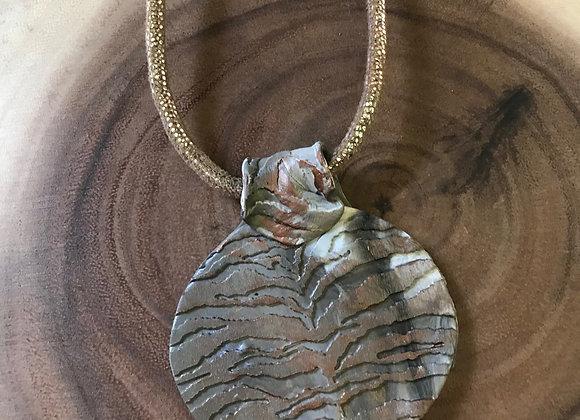 Animal Print Necklace 2