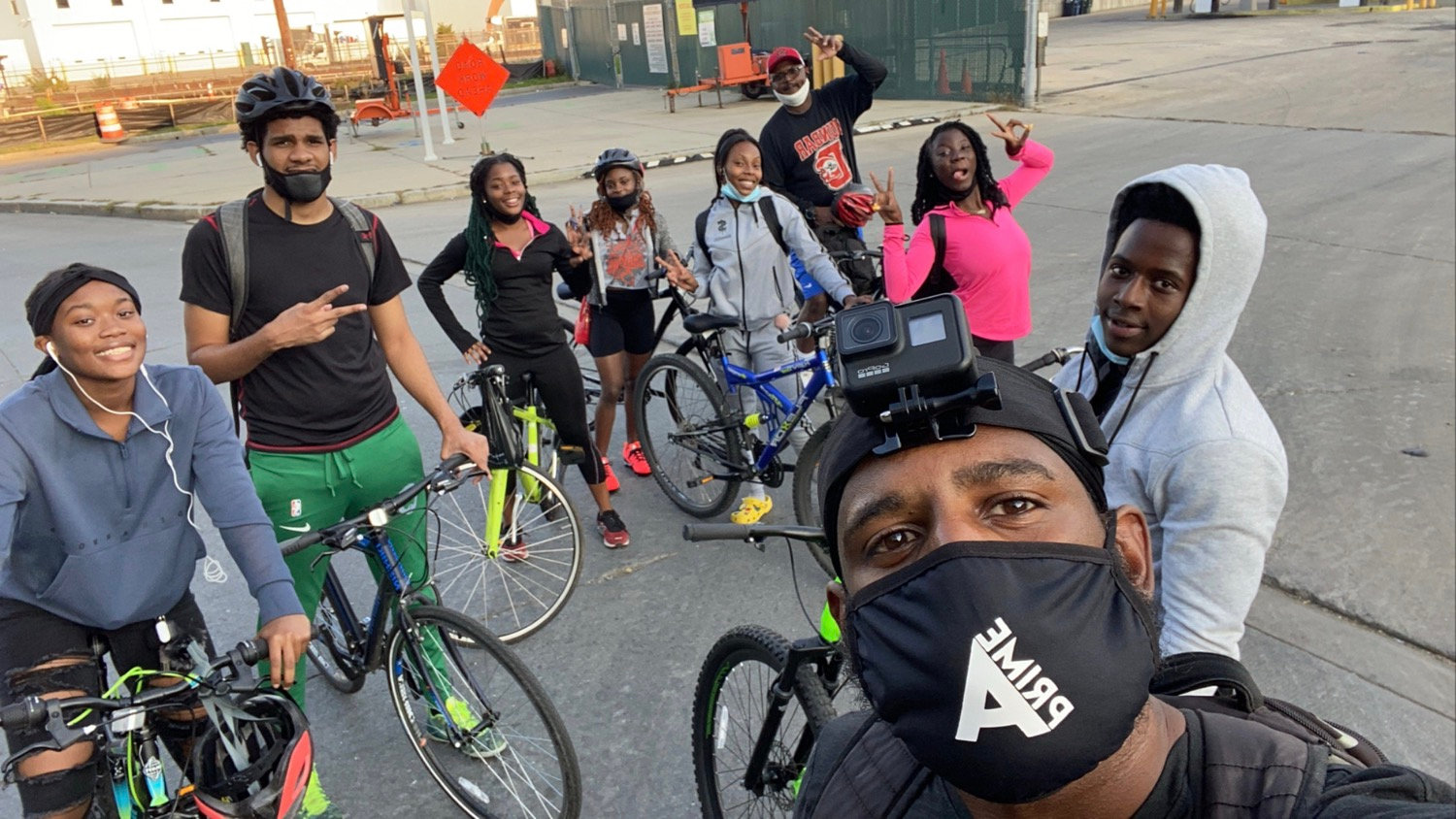 Bikes & Bagels with @SweatDC