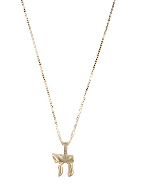 STERLING SILVER CHAI NECKLACE