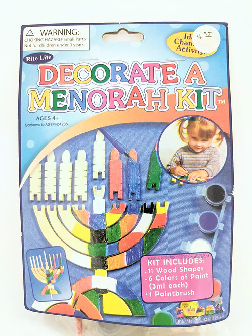 DECORATE A MENORAH KIT