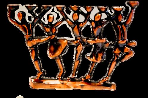 DANCERS MENORAH