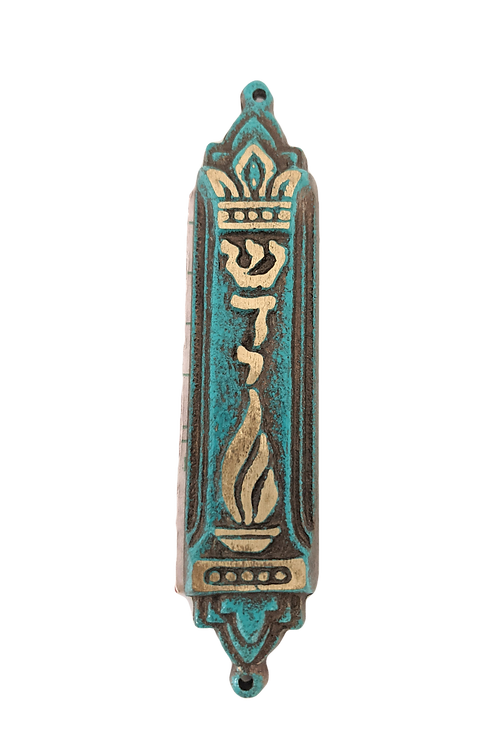 MADE IN ISRAEL TRADITIONAL MEZUZAH