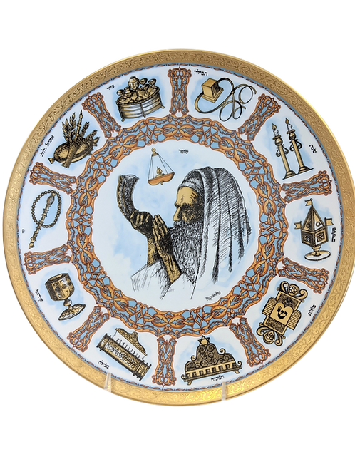TRADITIONS PLATE BY GOEBEL