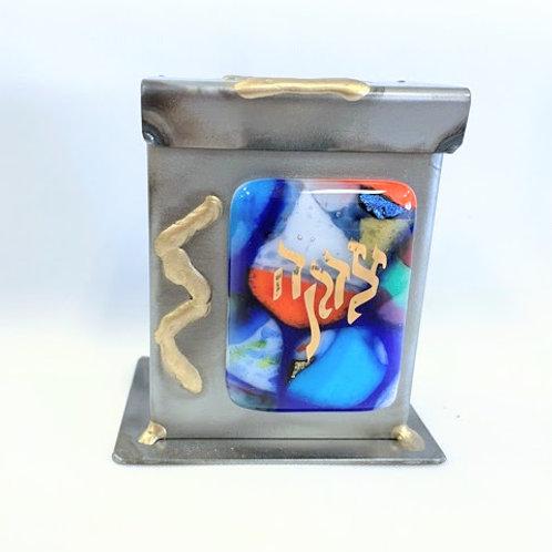 GARY ROSENTHAL SMALL TZEDAKAH BOX (IN STOCK)