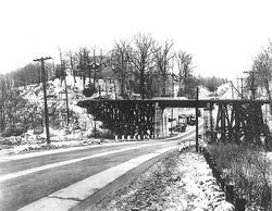 TE Neighborhood and Railroad Bridge