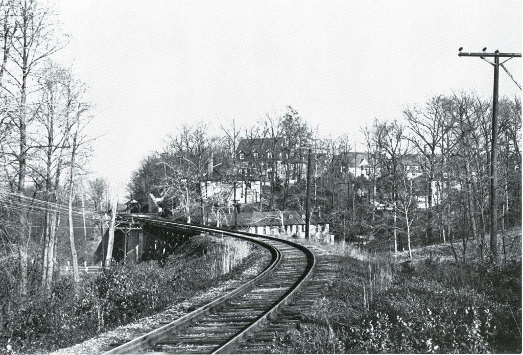Towson Estates from Ma & Pa Railroad