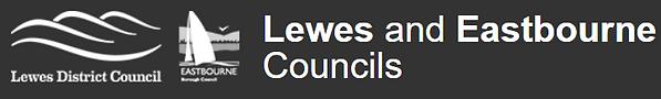 Lewes & Eastbourne B&W logo.PNG