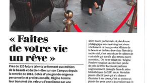 """""""Faites de votre vie un rêve"""" interview de Mme Ferrère par le magazine Epik ou rien."""