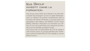 Création du premier groupe de formation à la française : Beauty and Wellness School Group