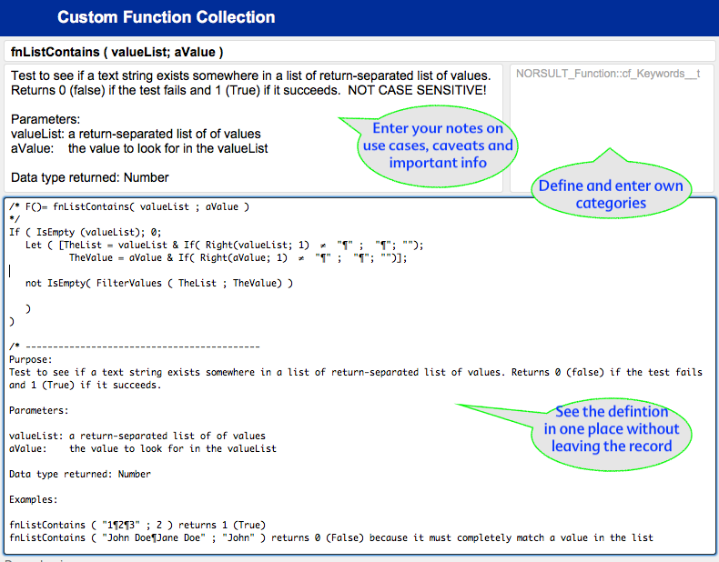 NORSULT_Functions Details Pane