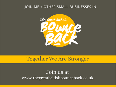 JOIN NOW! - BOUNCE BACK, Together we are stronger