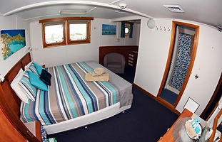 CKC CABINS Eco Abrolhos King Bed Deluxe