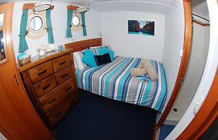 CKC CABINS Eco Abrolhos Queen Bed Stater