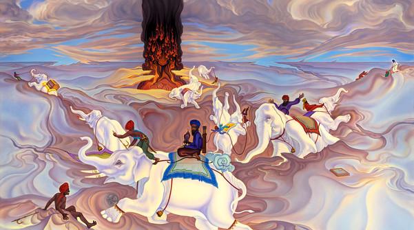 925 White Elephants 49x56 Feb 17 1990 vi
