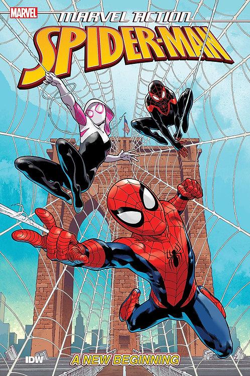 MARVEL ACTION SPIDER-MAN TP BOOK 01 NEW BEGINNING