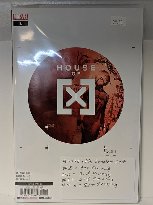 House of X (Comic Set)