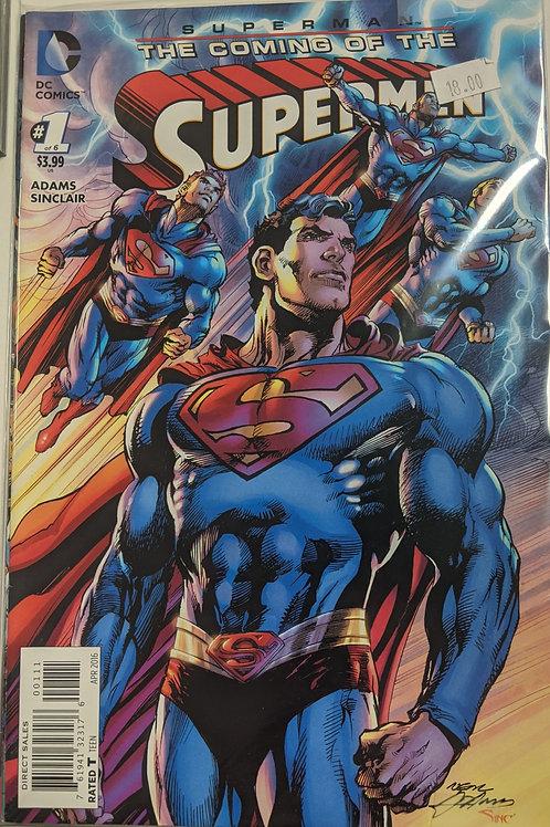 Superman: The Coming of the Supermen (Comic Set)