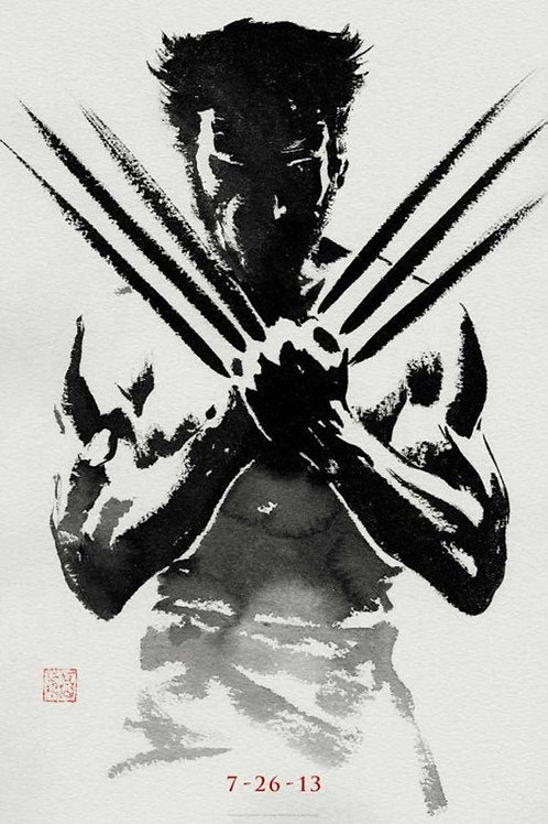 The Wolverine (Flat Poster)