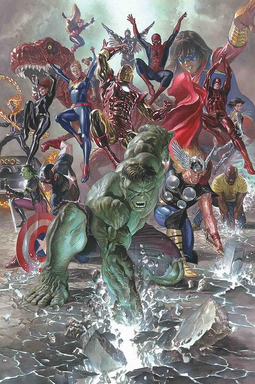 Avengers Legacy (Alex Ross Poster)