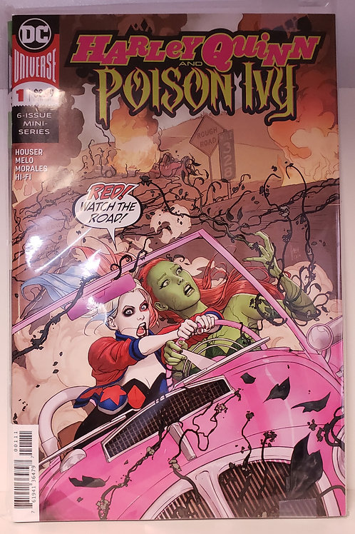 Harley Quinn & Poison Ivy 1 - 6 (comic set)