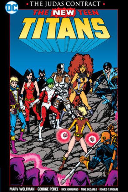New Teen Titans Judas Contract