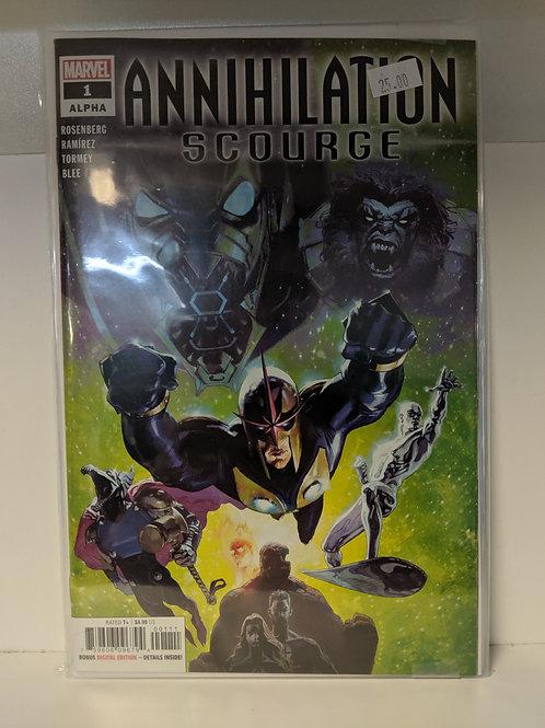 Annihilation Scourge (Comic Set)
