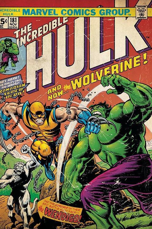 Hulk & Wolverine (Poster)
