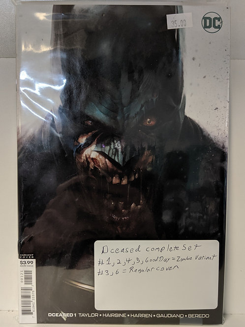 DCeased (Comic Set)