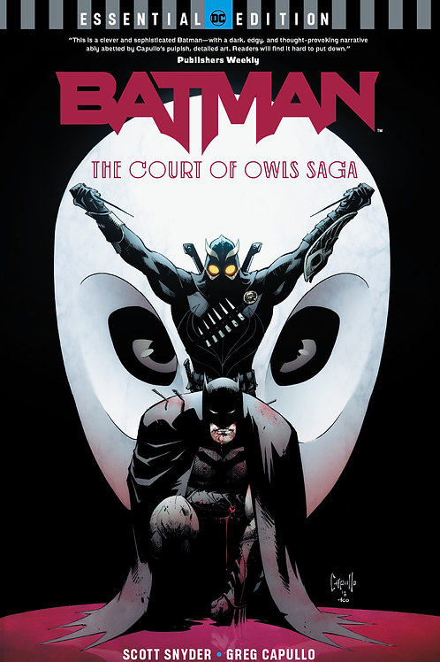 Batman The Court of the Owls Saga Essential Edition TP