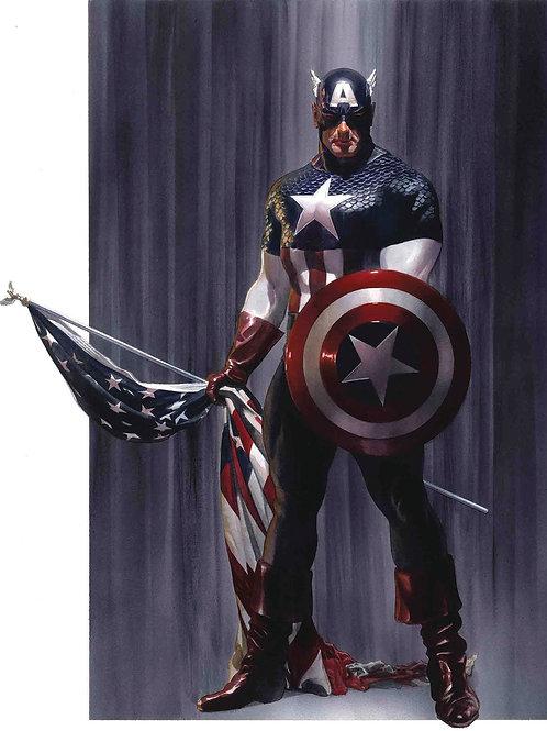 Captain America (Alex Ross Poster)