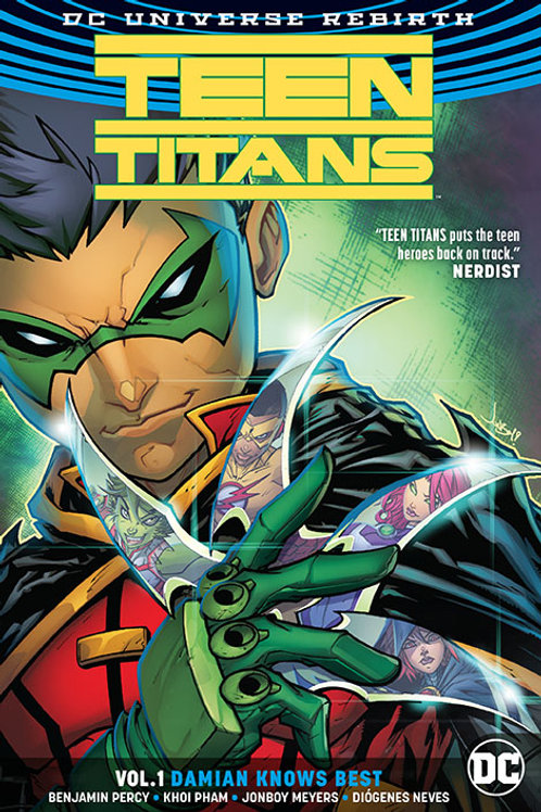 Teen Titans: Damian Knows Best vol.1