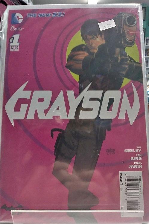 Grayson (Comic Set)