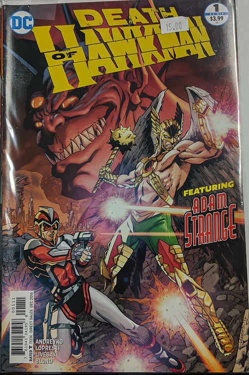 Death of Hawkman (Comic-Set)