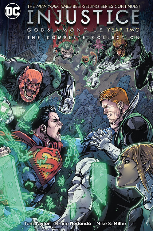INJUSTICE GODS AMONG US YEAR TWO COMPLETE COLL TP
