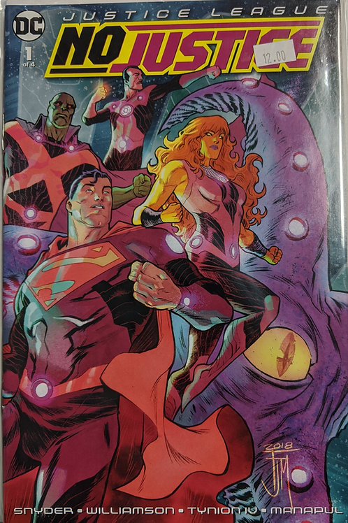 Justice League: No Justice (Comic-Set)
