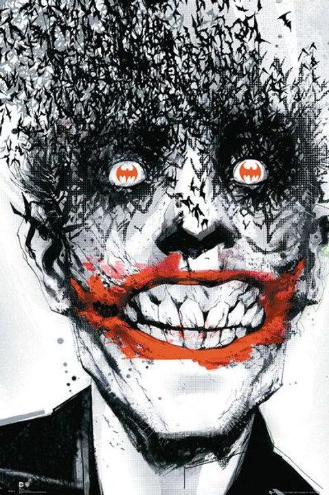 Joker/Bats (Flat Poster)