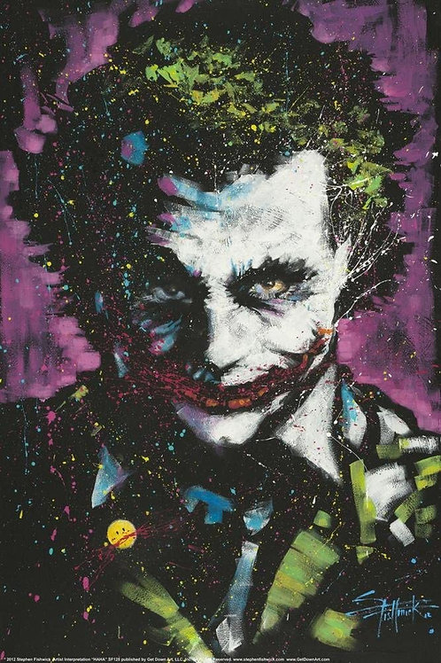 Joker (The Dark Knight Poster)