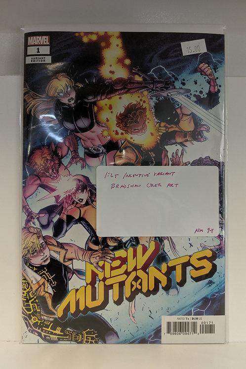New Mutants #1 (Nick Bradshaw Variant)
