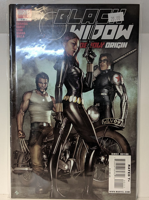 Black Widow: Deadly Origin (Comic Set)