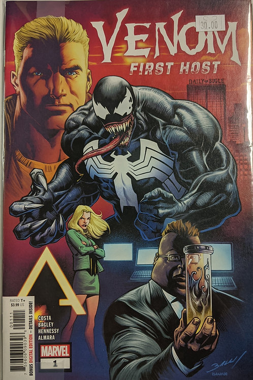Venom: First Host (Comic-Set)
