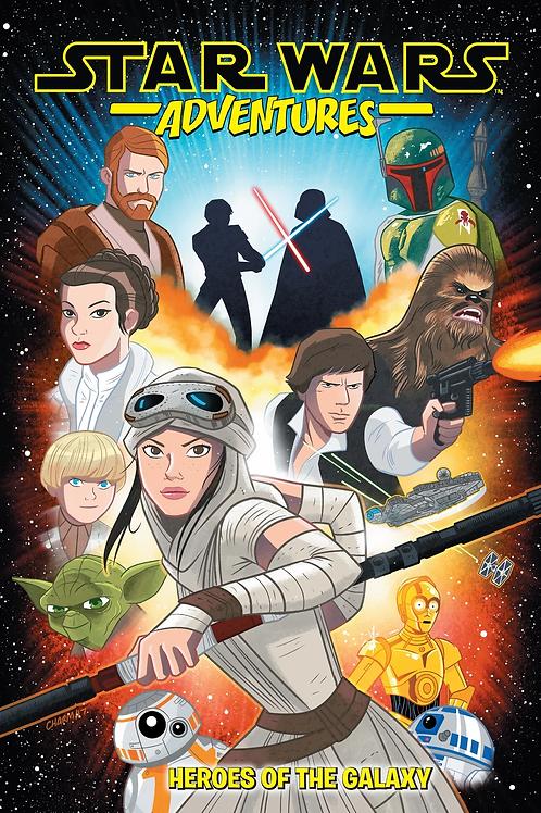 Star Wars Adventures Heroes of the Galaxy