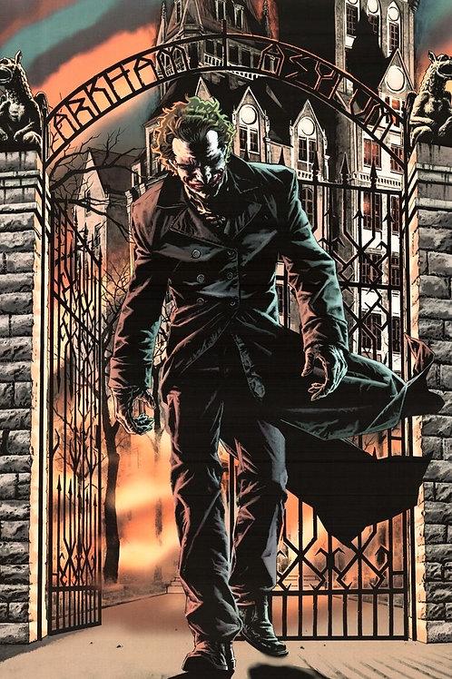 Joker (Arkham Asylum Poster)