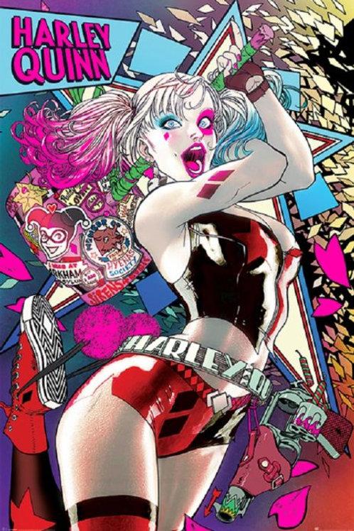 Harley Quinn Neon (Poster)