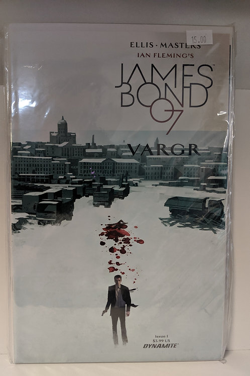 James Bond 007: Vargr (Comic Set)
