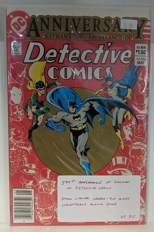 Detective Comics #526
